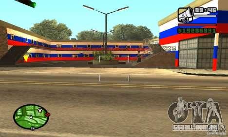 Hotel russo para GTA San Andreas terceira tela
