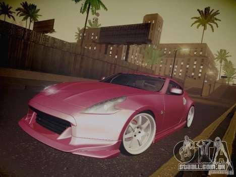 Nissan 370Z Fatlace para as rodas de GTA San Andreas