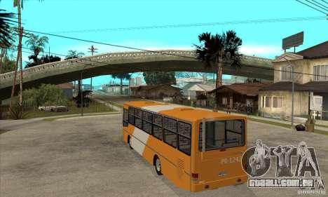 CAIO Alpha Mercedes-Benz OH-142051 skin Zona C para GTA San Andreas traseira esquerda vista