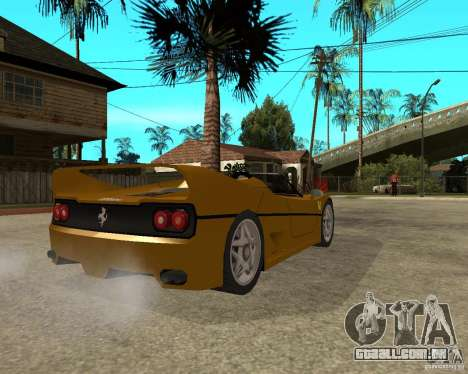 Ferrari F50 para GTA San Andreas