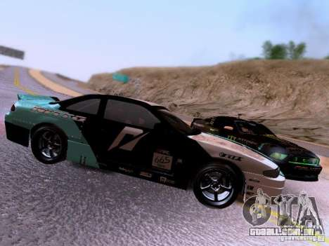 Nissan Silvia S14 Matt Powers v4 2012 para GTA San Andreas vista interior
