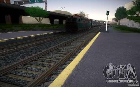 Trilhos de HD v 2.0 Final para GTA San Andreas por diante tela