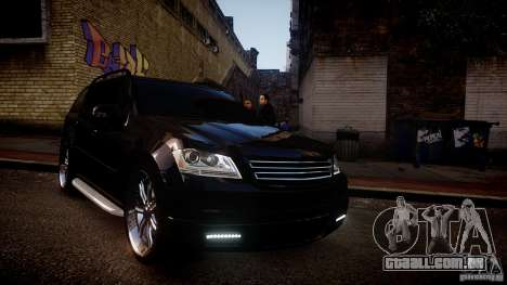 Mercedes-Benz GL450 Brabus Black Edition para GTA 4 vista interior
