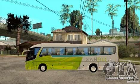 Marcopolo Viaggio G7 1050 Santur para GTA San Andreas esquerda vista