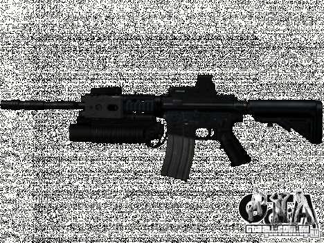 Conjunto M4 do COD: MW e MW2 para GTA San Andreas
