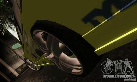Mitsubishi Lancer Evolution 8 para GTA San Andreas vista interior