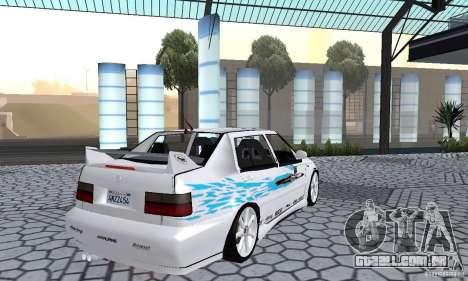 Volkswagen Jetta FnF para GTA San Andreas esquerda vista