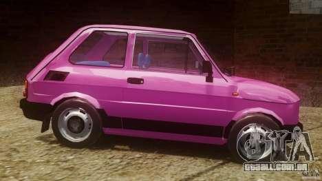 Fiat 126p FL Polski 1994 Wheels 1 para GTA 4 esquerda vista