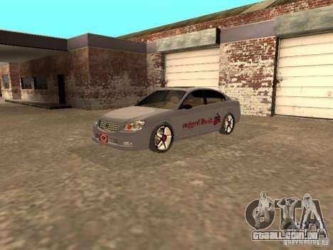 NISSAN ALTIMA para GTA San Andreas