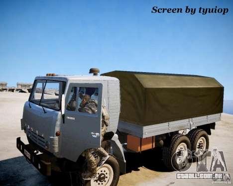 Modern Warfare 2 Soap para GTA 4 por diante tela