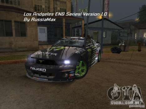 Los Angeles ENB modification Version 1.0 para GTA San Andreas