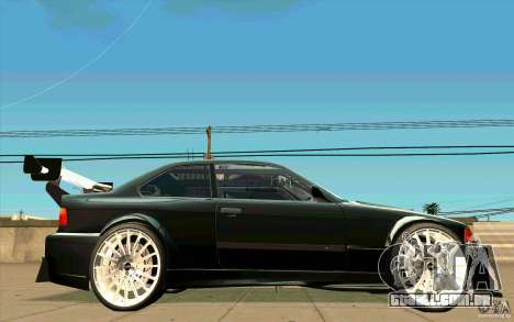 NFS:MW Wheel Pack para GTA San Andreas por diante tela