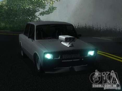 VAZ 2106 Drag Racing para GTA San Andreas esquerda vista