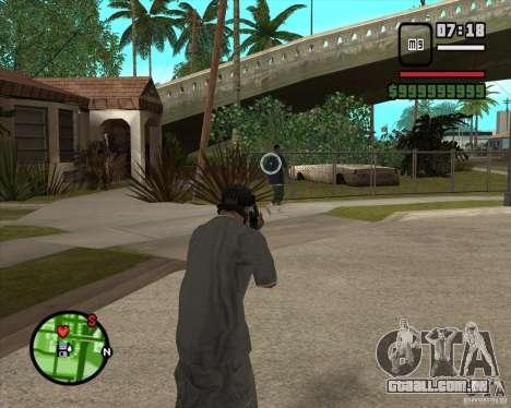 GTA IV Target v.1.0 para GTA San Andreas segunda tela