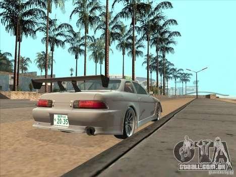 Toyota Soarer (JZZ30) para GTA San Andreas esquerda vista