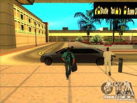 Tommy Vercetti para GTA San Andreas segunda tela