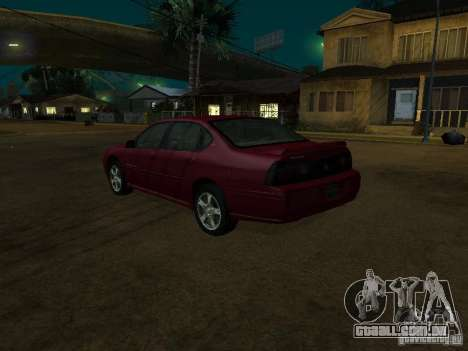 Chevrolet Impala 2003 para GTA San Andreas esquerda vista