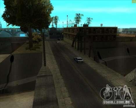 Bom velho ENBSeries para GTA San Andreas terceira tela