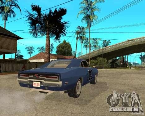 General Lee Dodge Charger General Lee para GTA San Andreas