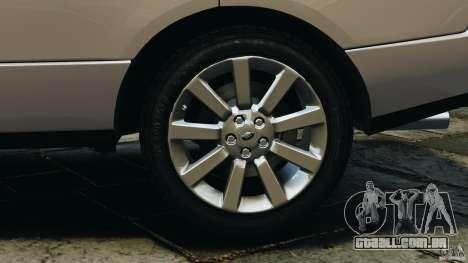Range Rover Supercharged 2008 para GTA 4 vista superior