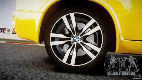 BMW X5M Chrome para GTA 4 rodas