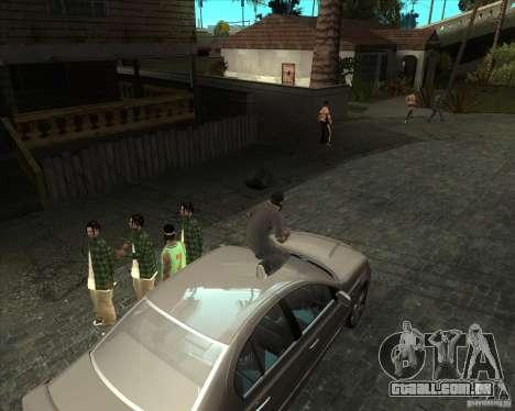 Bom velho ENBSeries para GTA San Andreas