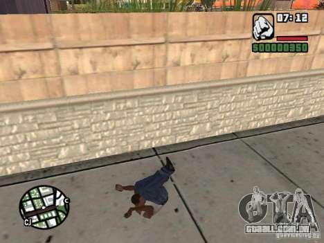 PARKoUR para GTA San Andreas nono tela
