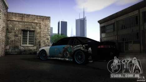 Nissan Silvia S14 NoNgrata para GTA San Andreas traseira esquerda vista