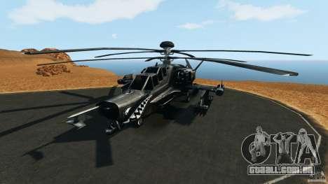 KA-50 Black Shark Modified para GTA 4