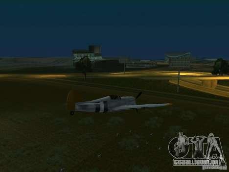 Bombas para os aviões para GTA San Andreas terceira tela