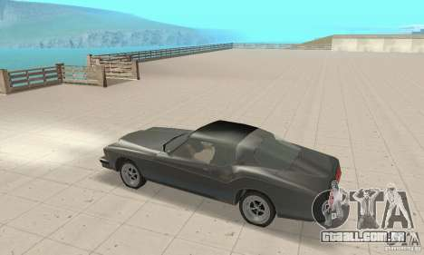 Buick Riviera 1973 para GTA San Andreas vista traseira