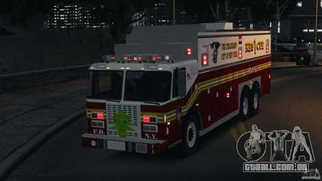 FDNY Rescue 1 [ELS] para GTA 4 vista superior