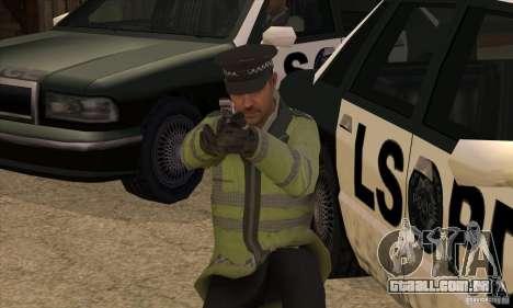 Uma nova polícia para GTA San Andreas