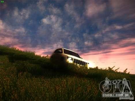 Jeep Grand Cherokee 2012 v2.0 para GTA San Andreas vista interior