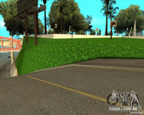 Basquete de HQ para GTA San Andreas por diante tela
