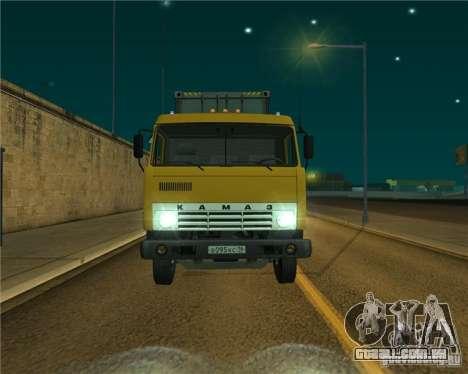 KAMAZ-54112 para GTA San Andreas esquerda vista