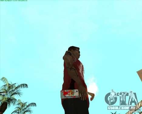 Blood Weapons Pack para GTA San Andreas décima primeira imagem de tela