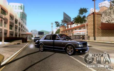 Bentley Arnage para as rodas de GTA San Andreas