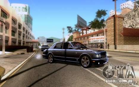 Bentley Arnage para as rodas de GTA San Andreas