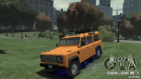 Land Rover Defender Station Wagon 110 para GTA 4