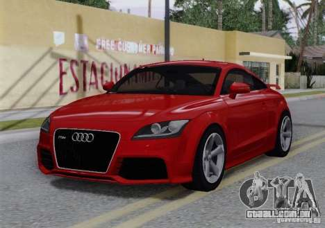 Audi TT-RS Coupe para GTA San Andreas vista inferior