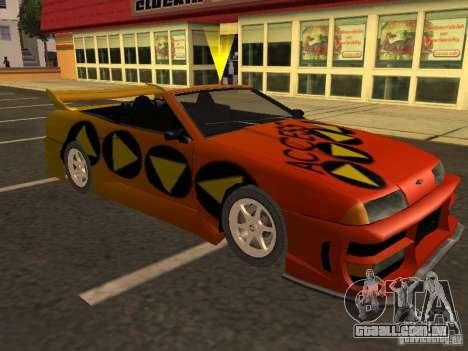 Elegia de Tops conversíveis para as rodas de GTA San Andreas