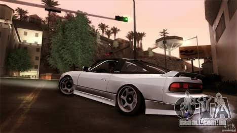 Nissan 240SX S13 Drift Alliance para GTA San Andreas esquerda vista
