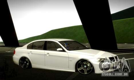 BMW 330 E90 para vista lateral GTA San Andreas