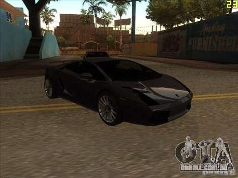 Lamborghini Gallardo Superleggera 2006 para GTA San Andreas