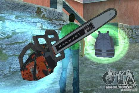 Serra elétrica para GTA Vice City