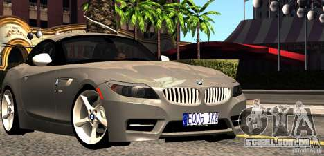 BMW Z4 Stock 2010 para GTA San Andreas