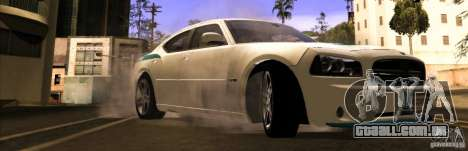 Dodge Charger R/T Daytona para GTA San Andreas vista direita