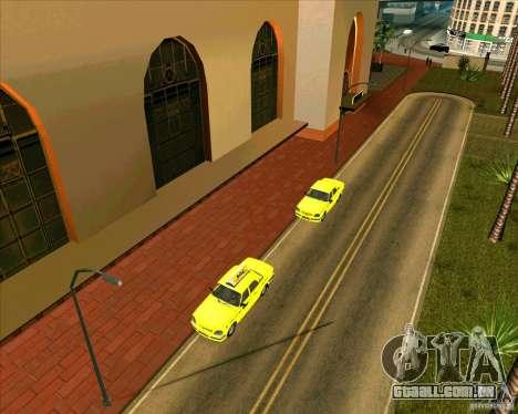 Priparkovanyj transporte v 3,0-de-Final para GTA San Andreas sétima tela