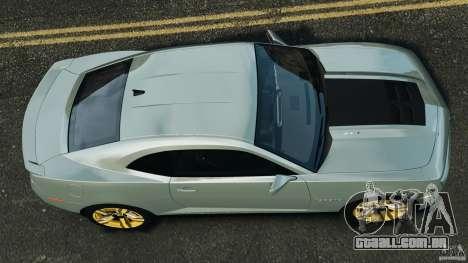 Chevrolet Camaro ZL1 2012 v1.2 para GTA 4 vista direita